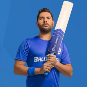 Yuvraj Singh BalleBaazi brand ambassador