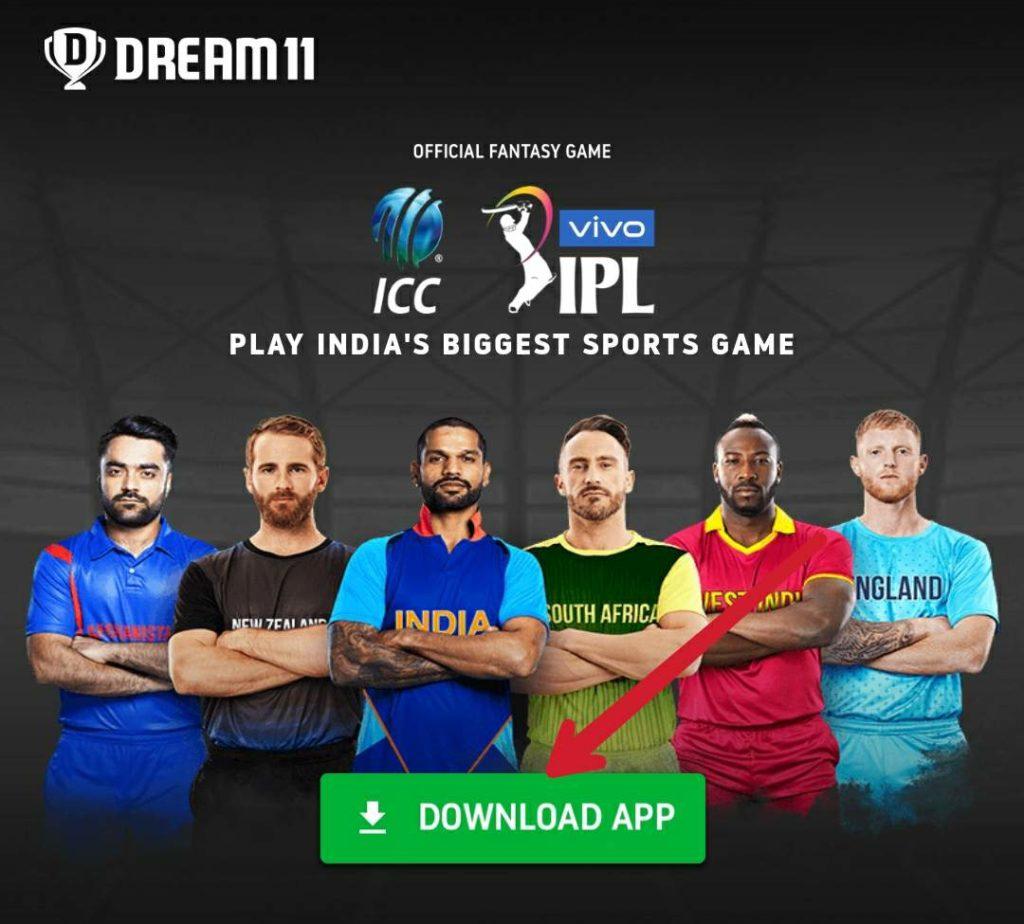 How to download Dream11 App guide Screenshot