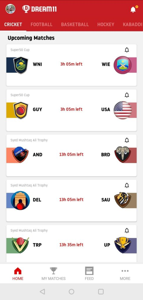 How to play on Dream11 Step-by-step guide screenshot