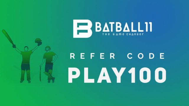 BatBall11 Referral Code: PLAY100 | Review & App Download