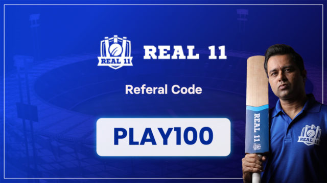 Real 11 Referral Code: PLAY100 | Sign up and get Rs.50
