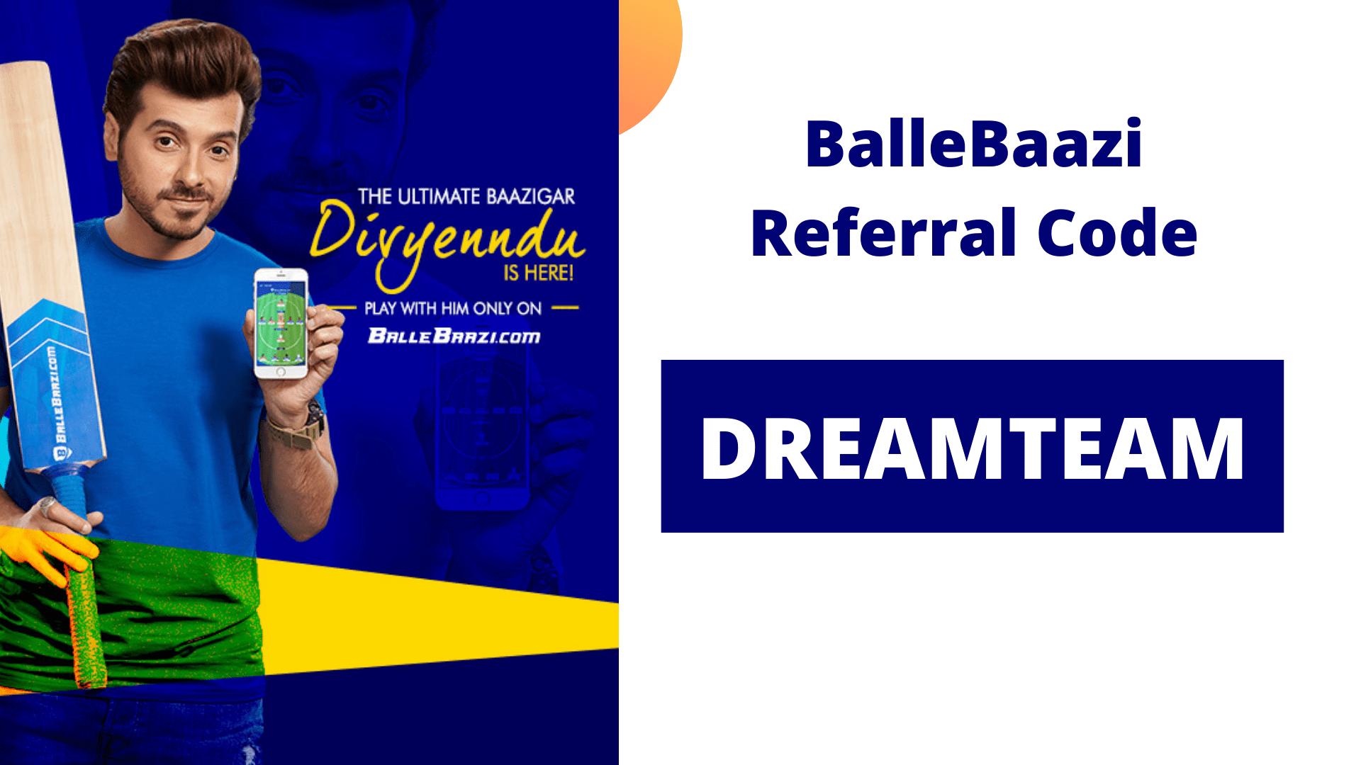 BalleBaazi Referral Code DREAMTEAM